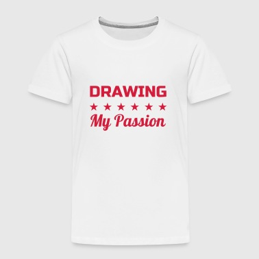 Zeichnung / Zeichner / Drawing / Drawer - Kinder Premium T-Shirt