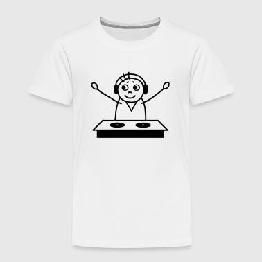 DJ am Mischpult - Kinder Premium T-Shirt