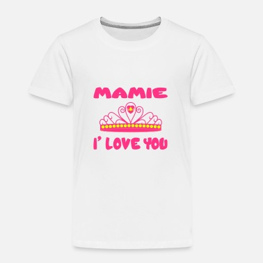 I Lové Ma Mamie Mamie i love you - T-shirt Premium Enfant