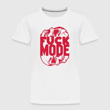 Fuck mode quote head death insult - Kids' Premium T-Shirt