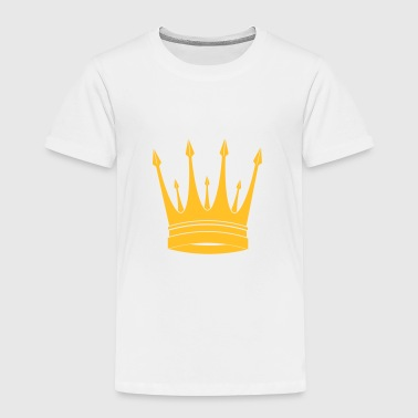 krona / kung / Crown / King - Premium-T-shirt barn