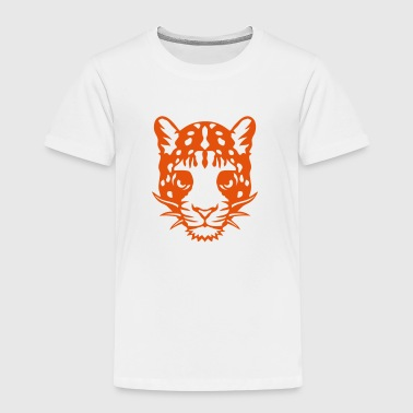 wildes Tier Panther Tiere 1102 - Kinder Premium T-Shirt
