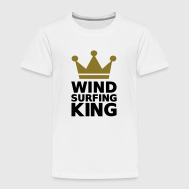 Windsurfing King - Kinder Premium T-Shirt