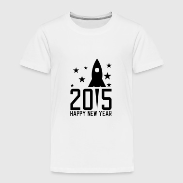 Happy New Year 2015 - Premium T-skjorte for barn