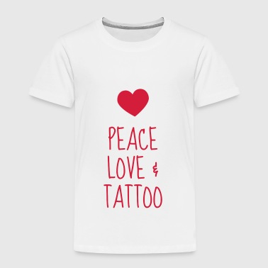 tatovering / tattoo / tatovert / biker - Premium T-skjorte for barn