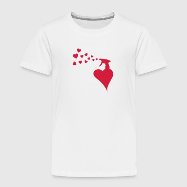 sprayer _heart _of _love_c1 - Kids' Premium T-Shirt