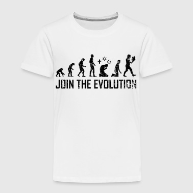 Atheist Evolution Atheists Science Learning - Kids' Premium T-Shirt