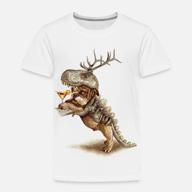 Dinosaur COSTUME PARTY - Kids' Premium T-Shirt
