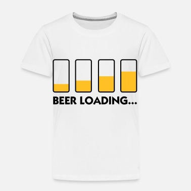 Loading Beer Beer Loading ... - Kids' Premium T-Shirt