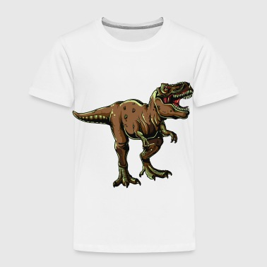 Dinosaur King T-REX KING OF THE DINOSAURS! - Kids' Premium T-Shirt