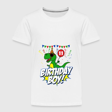 11th birthday dinosaur gift - Kids' Premium T-Shirt