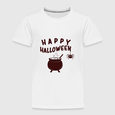Glad Halloween häxor kittel - Premium-T-shirt barn