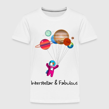 Unicorn astronaut Interstellar Unicorn favoloso - Maglietta Premium per bambini