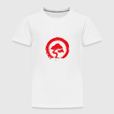 Bonsai Tree Enso Circle Shirt Buddhist Zen - Kids' Premium T-Shirt
