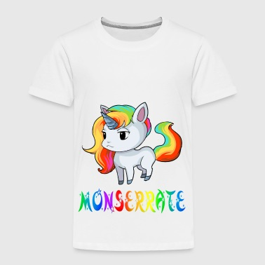 Monserrat unicornio Monserrate - Camiseta premium niño