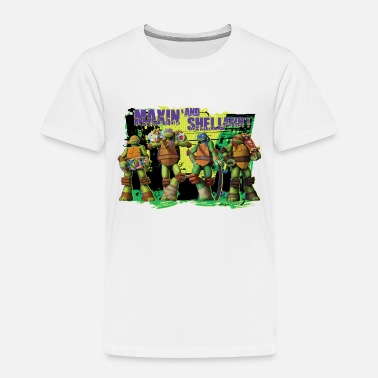 Kids Premium Shirt TURTLES 'Shellaxin'!' - Premium T-skjorte barn
