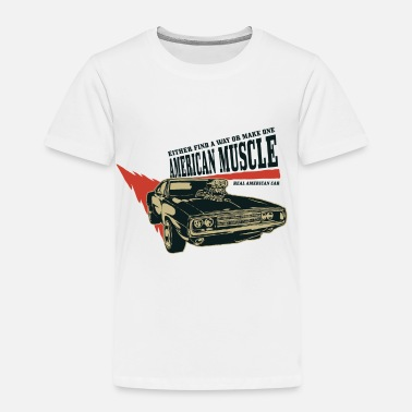 Muscle American muscle car 2 - Kids' Premium T-Shirt