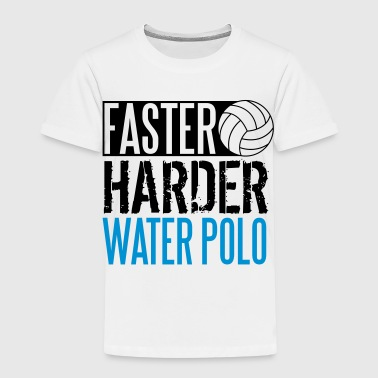 Faster, harder, water polo - Kids' Premium T-Shirt
