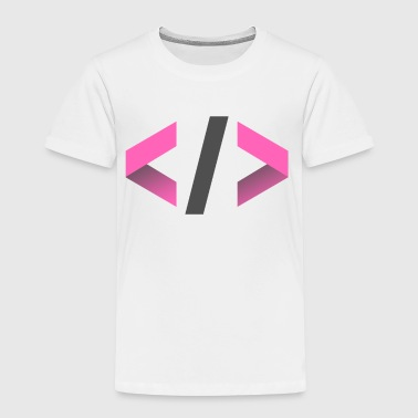 Informatiker - Programmierer - Brackets IT Design - Kinder Premium T-Shirt