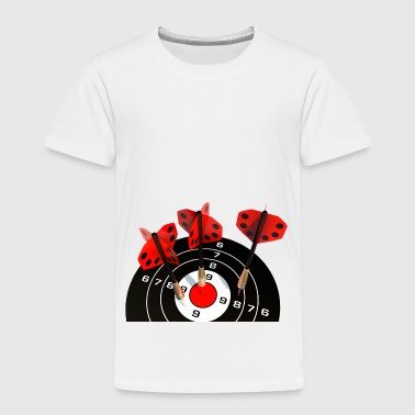 darts target target dart arrows dartboa - Kids' Premium T-Shirt
