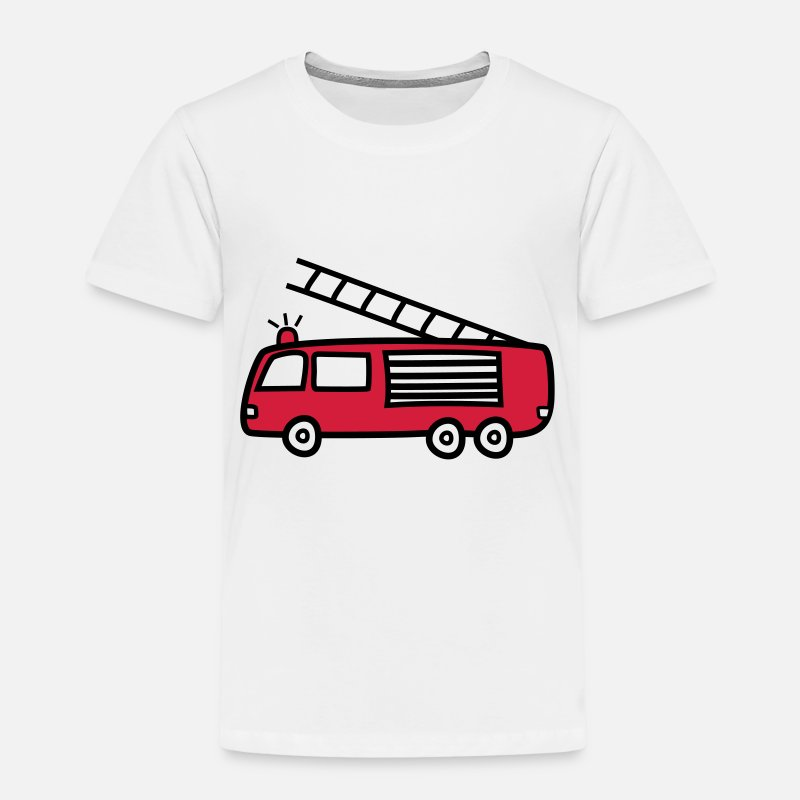 Bestsellers Q4 2018 T-Shirts - firefighter - Kids' Premium T-Shirt white