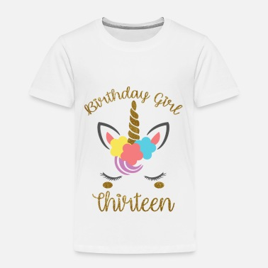 Thirteen Birthday Girl Thirteen - Kids' Premium T-Shirt