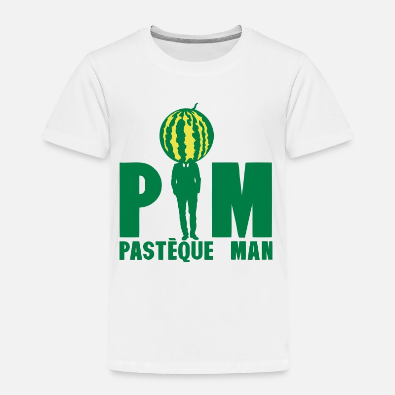 Costume T-shirts - pasteque man homme costume cravate 1612 - T-shirt premium Enfant blanc