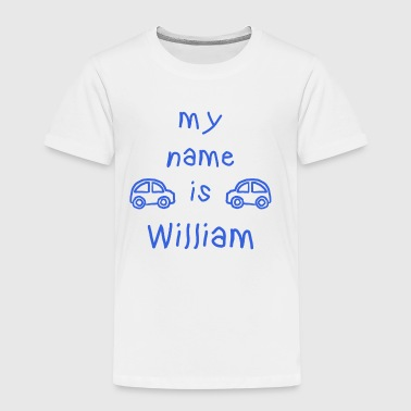 MEIN NAME IST WILLIAM - Kinder Premium T-Shirt