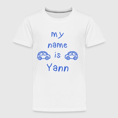 Yann MY NAME IS - Kinder Premium T-Shirt