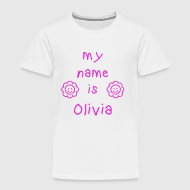 Olivia OLIVIA MY NAME IS - T-shirt Premium Enfant