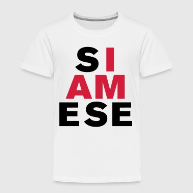 I AM SIAMESE - Kids' Premium T-Shirt