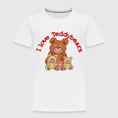 I love teddy bears - Kids' Premium T-Shirt