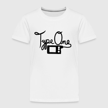 Type One Diabetes - Insulin Pump 2 - Black - Kids' Premium T-Shirt