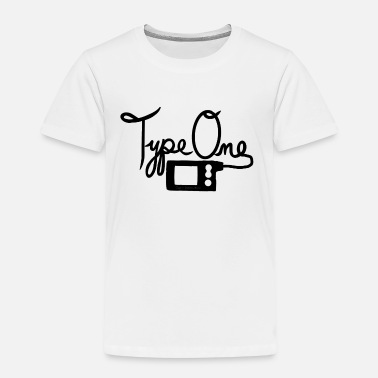Insulin Pump Type One Diabetes - Insulin Pump 2 - Black - Kids' Premium T-Shirt