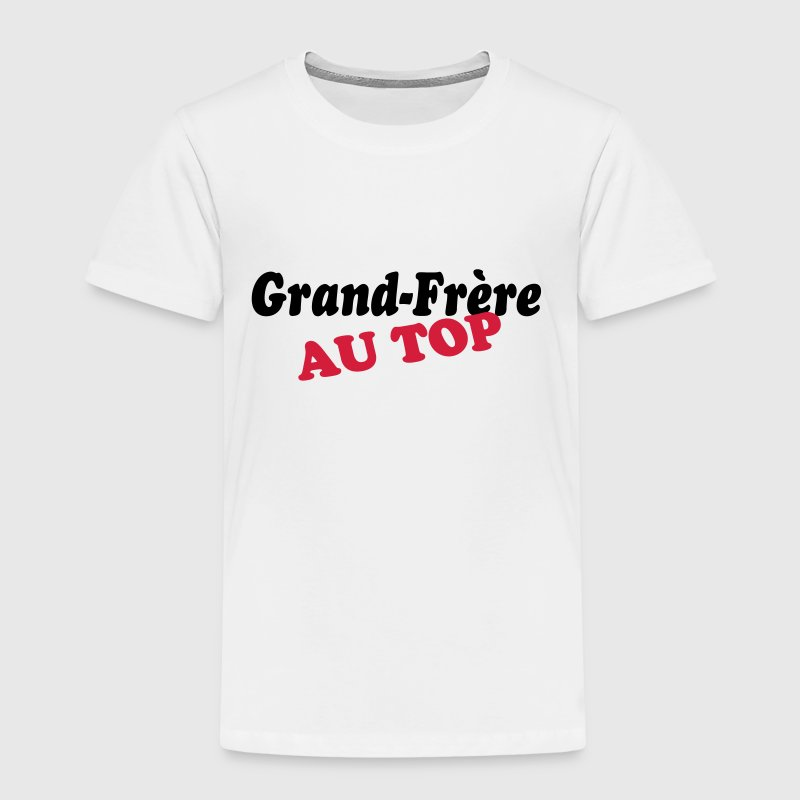 Grand-frère au top - T-shirt Premium Enfant