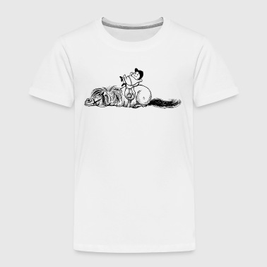 Thelwell 'Pony is sleeping' - Kids' Premium T-Shirt
