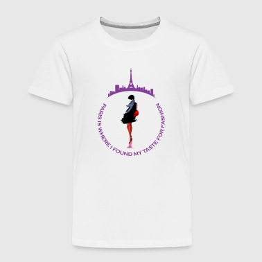Paris Fashion Design 2 - Kids' Premium T-Shirt