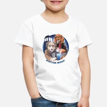 Collections doc woof kleines png - Kinder Premium T-Shirt