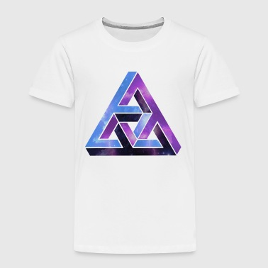 Optisk illusion - optisk illusion - Børne premium T-shirt