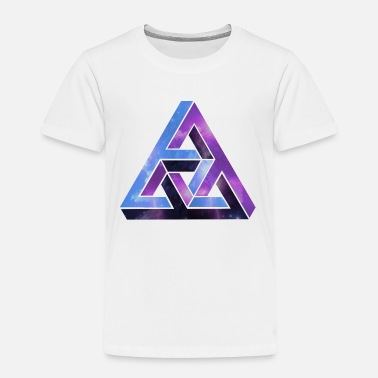 Cool Synvilla - optisk illusion - Premium T-shirt barn
