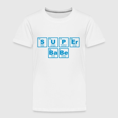 SUPERBABE PERIODIC TABLE OF THE ELEMENTS - Kinderen Premium T-shirt