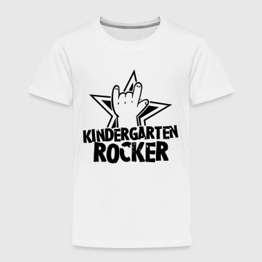 Kindergarten Rocker - Kleinkind - Rock Hand - Cool - Kinder Premium T-Shirt