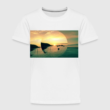Sunset Bude, Cornwall - Kinderen Premium T-shirt