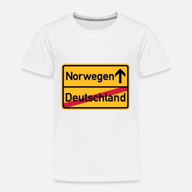 Norwegen Sprüche Norwegen - Kinder Premium T-Shirt