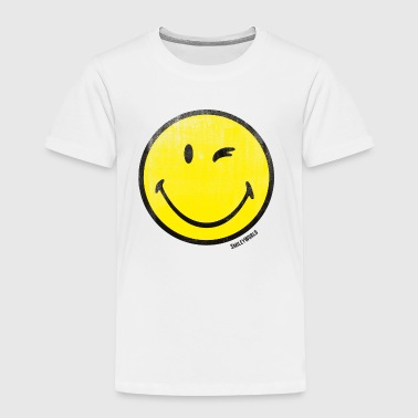 SmileyWorld Classic Winking Smiley - Kids' Premium T-Shirt