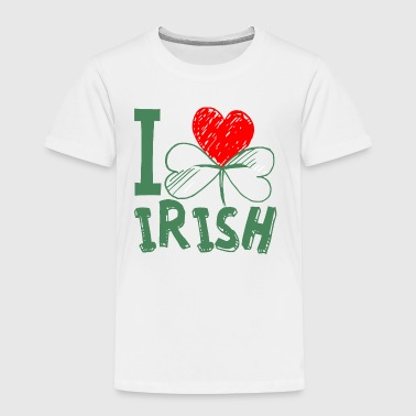 I love Ireland in green - Kids' Premium T-Shirt