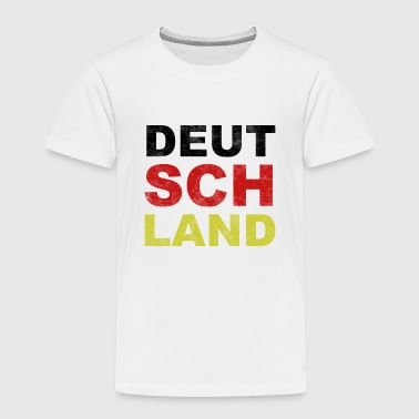 Deutschland in Nationalfarben! - Kinder Premium T-Shirt