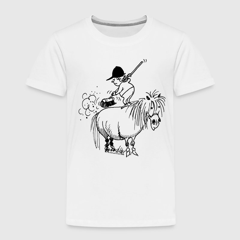 Thelwell 'Spring-cleaning' - Kids' Premium T-Shirt