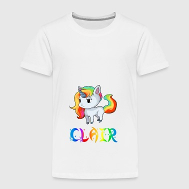 Claire Unicorn Clair - Kids' Premium T-Shirt