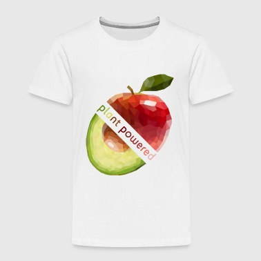 plant powered - Kids' Premium T-Shirt